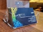 suport carti de vizita personalizat UV Iasi