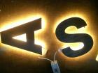 litere din fier luminate Iasi