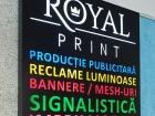 reclama luminoasa backlit royal print