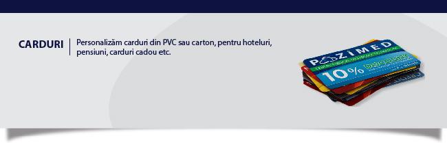 Carduri personalizate Iași