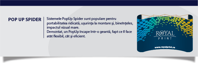Sistem Pop Up Spider Iași