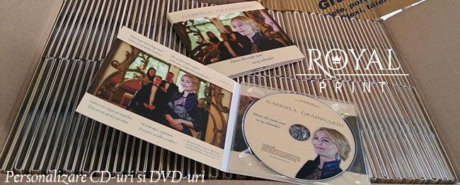 Personalizare CD-uri Iași
