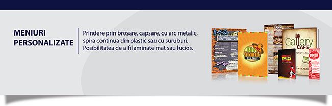 Meniuri personalizate Iași